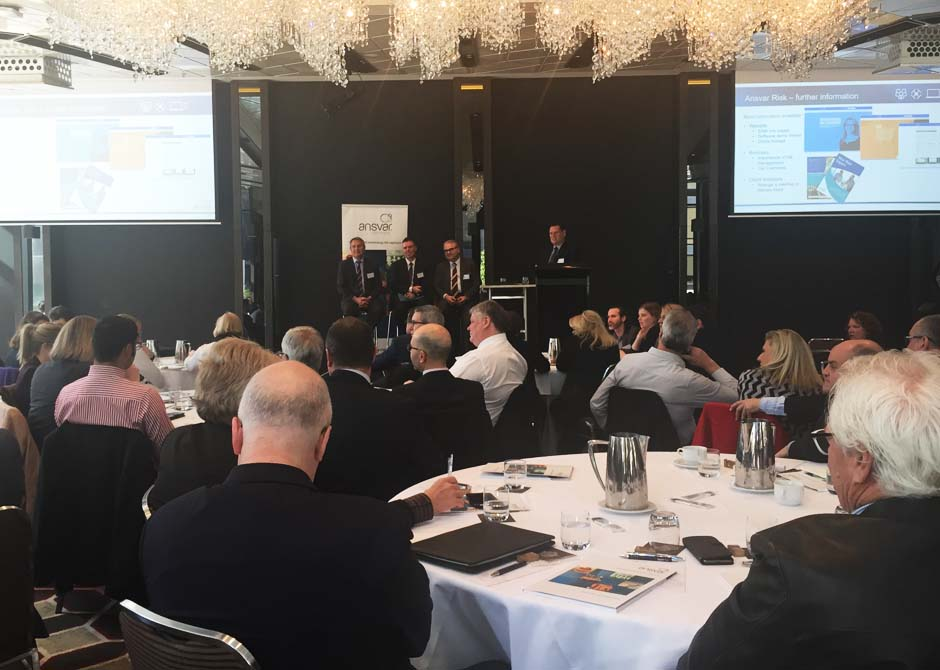 Ansvar 'Protecting Vulnerable People' Broker Forum in Melbourne